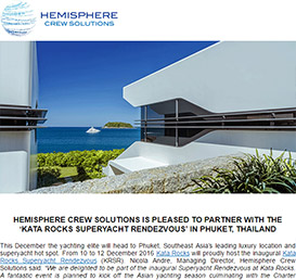 Hemisphere Crew Solutions July 2016