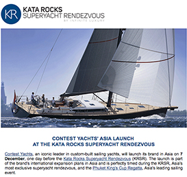 Contest Yacht's Asia launch