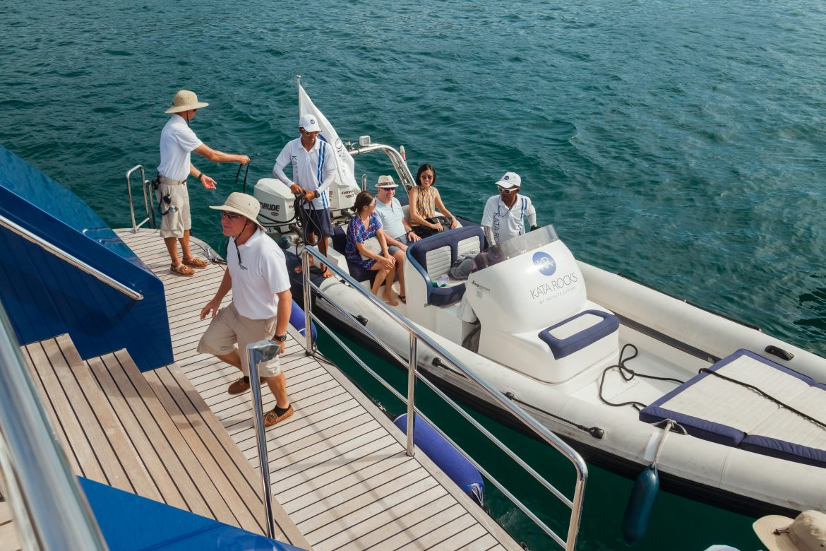 'Yacht Hop' – Yacht owners, media and guests are invited to board the various yachts.