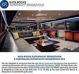 Kata Rocks Superyacht Rendezvous & Australian Superyacht Rendezvous 2019
