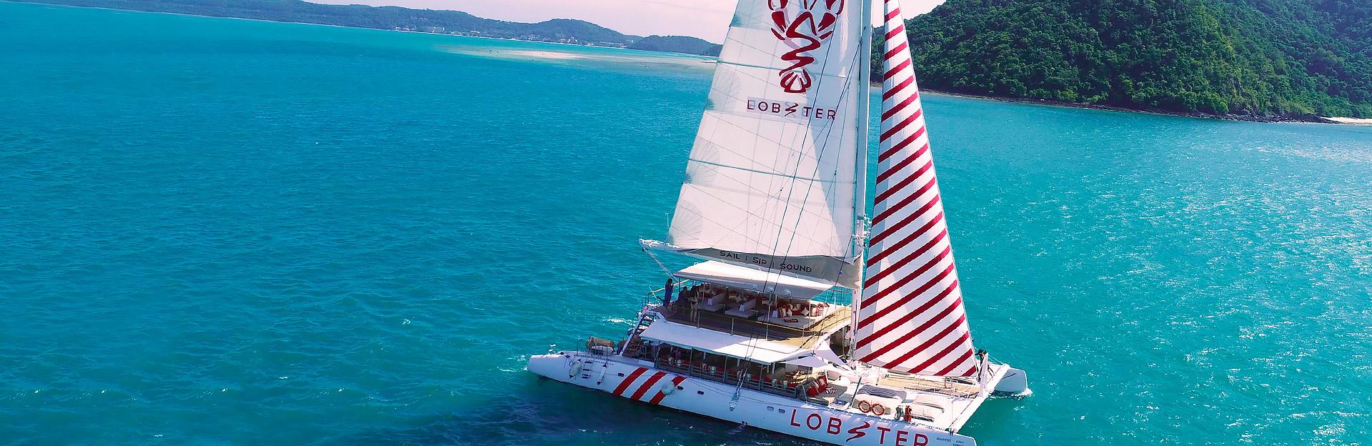 Lobster - Sail - Sip - Sound